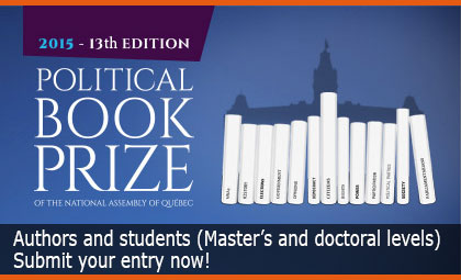 Political Book Prize - Submit your entry now!