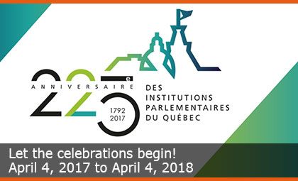 Let the celebrations begin! - April 4, 2017 to April 4, 2018