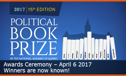 The winners of the Political Book Prize have been announced!