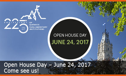 Open House Day – June 24, 2017
