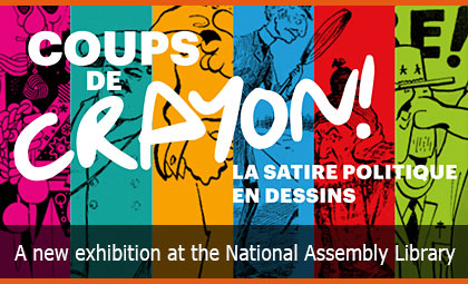Powerful pencil strokes! Political satire cartoons: A new exhibition at the National Assembly Library