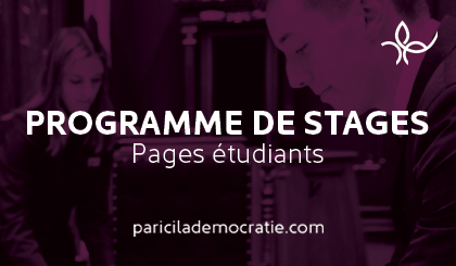 Programme de stages - Pages étudiants