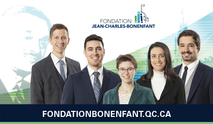 Fondation Jean-Charles-Bonenfant interns