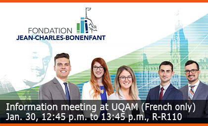 Information meeting at Université Laval