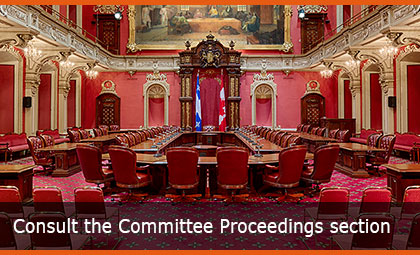 Consult the Committee Proceedings section