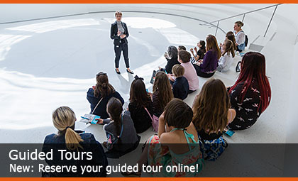 Guided Tours: Reserve your guided tour online!