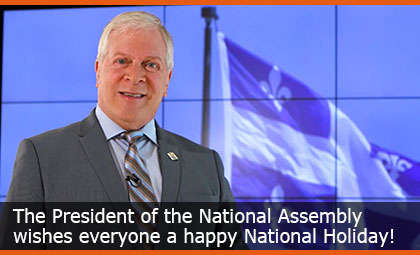 The President of the National Assembly wishes everyone a happy National Holiday!