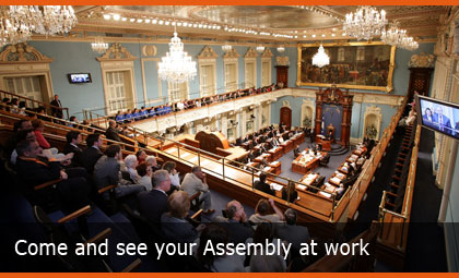 Come and see your Assembly at work