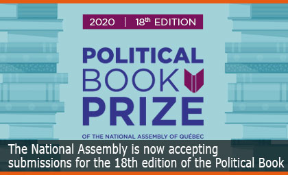 The National Assembly is now accepting  submissions for the 18th edition of the Political Book Prize