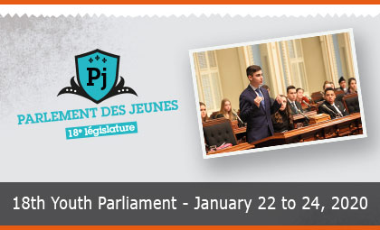 The 18th Youth Parliament is in session!