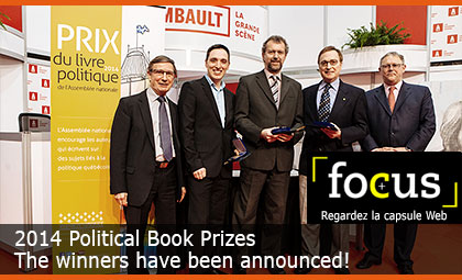 Political Book Prize. $15,000 in prizes. Entries now being accepted until January 31, 2014