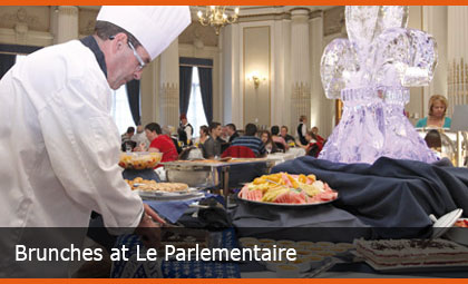 Brunches at Le Parlementaire