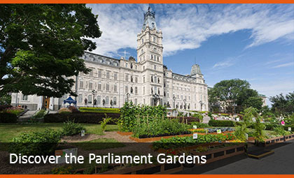 Discover the Parliament Gardens